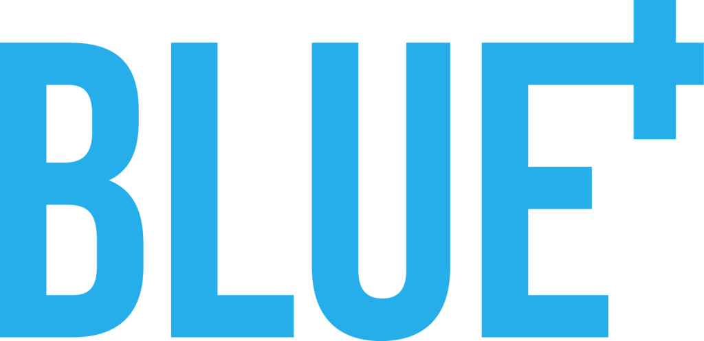 blue plus logo